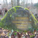 Ri274 Stueterhof Leiningisches Gestuet Hofruinen 15--18-Jhdt
